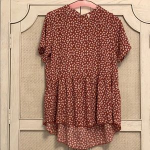 Darling peplum blouse!
